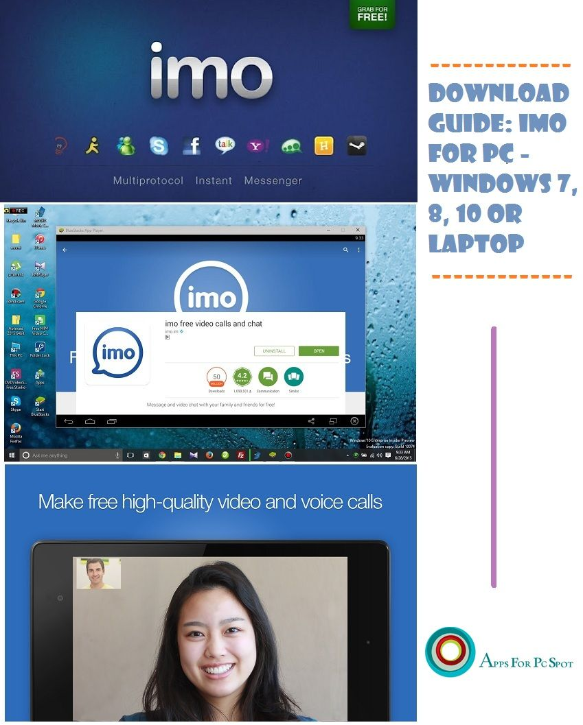 IMO for PC [Windows 7, 8, 10] – Free Download | Apps & Games for PC