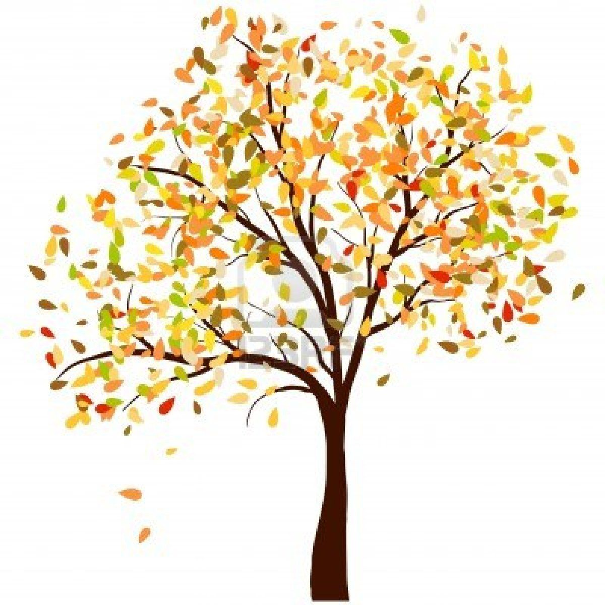 autumn trees and leaves clipart autumn trees background ...