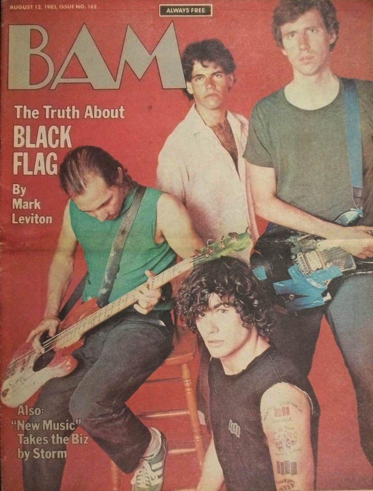 Black Flag Photo By Ann Summa 1983 Pretty Songs All The Young Dudes Black Flag
