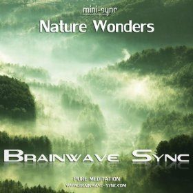 Nature Sounds With Brainwave Entrainment And Meditation Music Nature Wonders Brainwave Sync Mp3 Downloads Brain Waves Music Heals Meditation Music