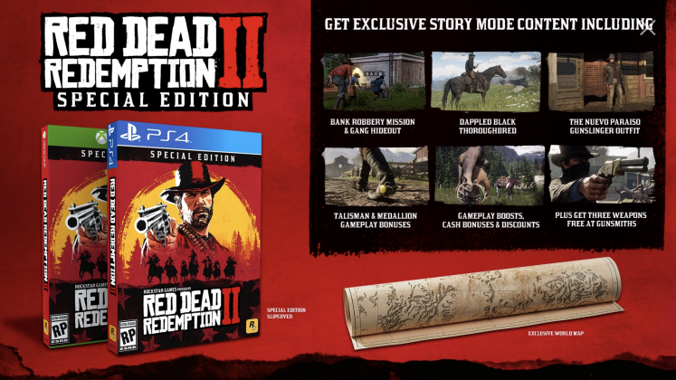 What You Get In The Red Dead Redemption 2 Pre Order Options Gique Red Dead Redemption Redemption Red Dead Redemption Ii