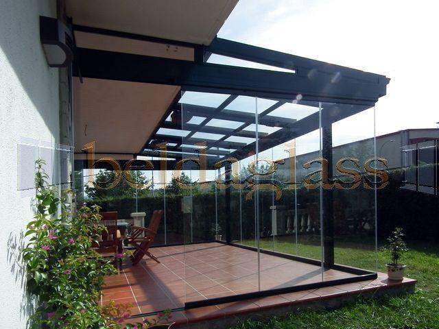Techo movil deslizante corredero para terraza acristalada for Techos moviles para terrazas precios