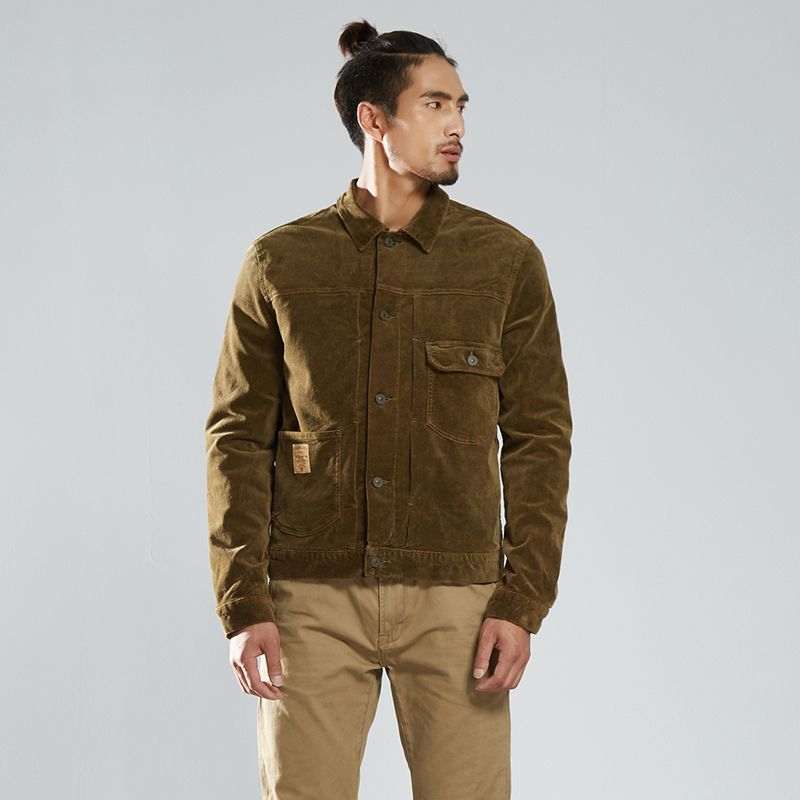 Winter bomber jacket heren