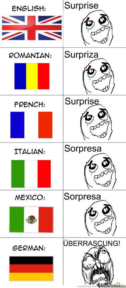 German Compared To Other Languages Funny School Memes Funny