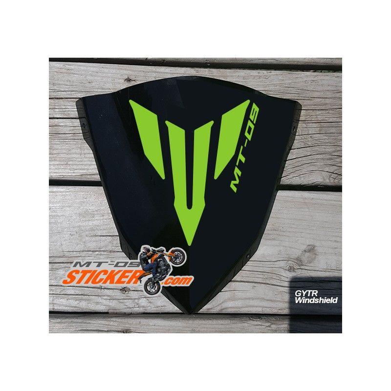 Yamaha MT-09 GYTR Windscreen sticker decal