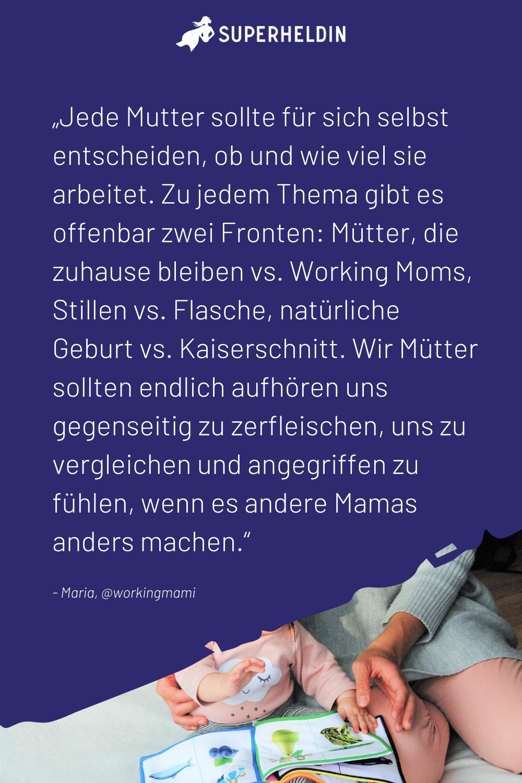 Im Gesprach Uber Familie Und Beruf Mit Maria Von Workingmami Mutter Jobs Fur Mutter Alleinerziehende Mutter