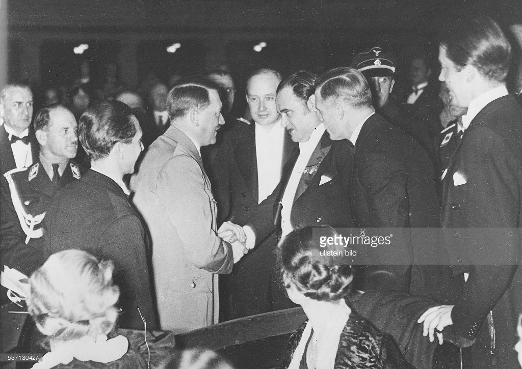 Beniamino Gigli,Joseph (Sepp) Dietrich,Joseph Goebbels,Adolf Hitler