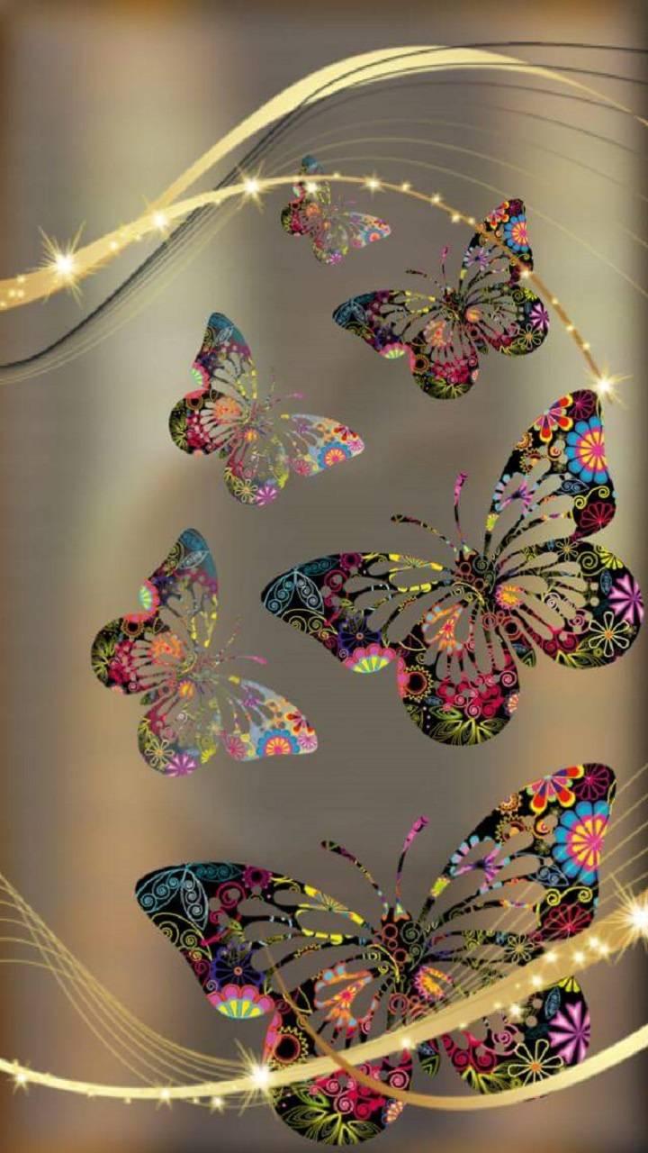 Butterflies wallpaper by rosemaria4111 - 42 - Free on ZEDGE™