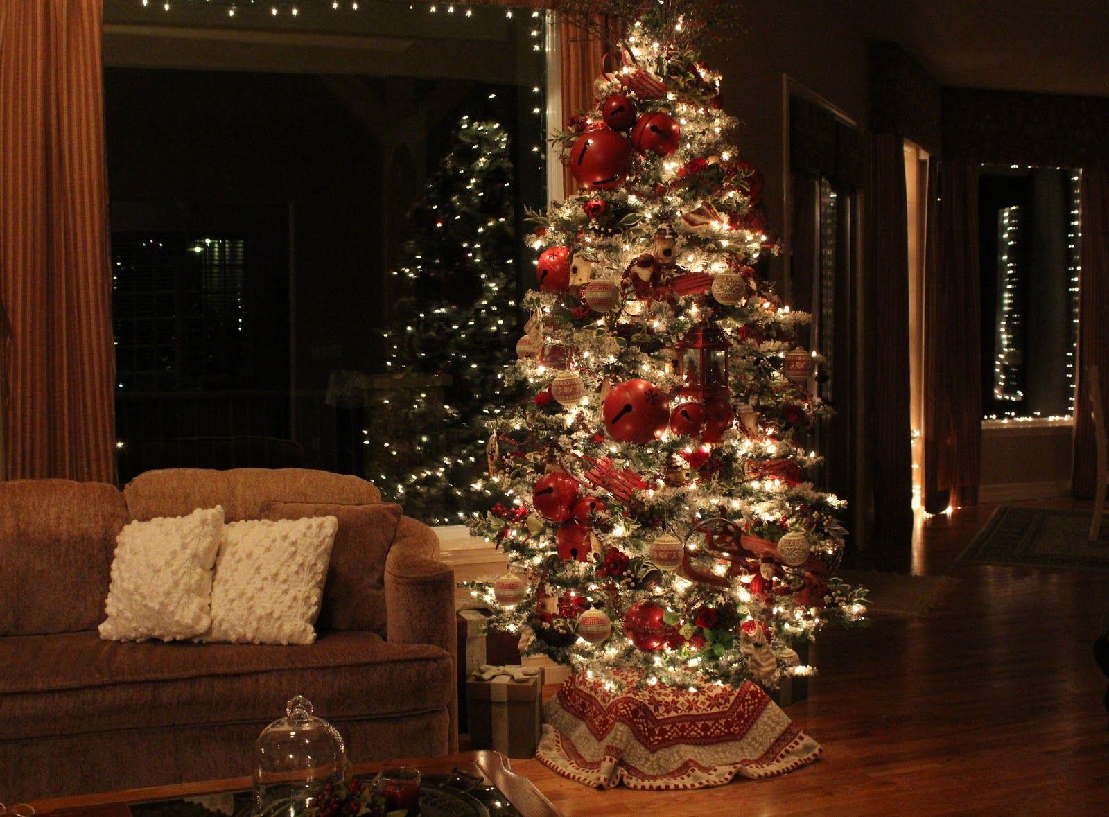 Christmas Eve Tree Christmas Decorations Christmas Christmas Home