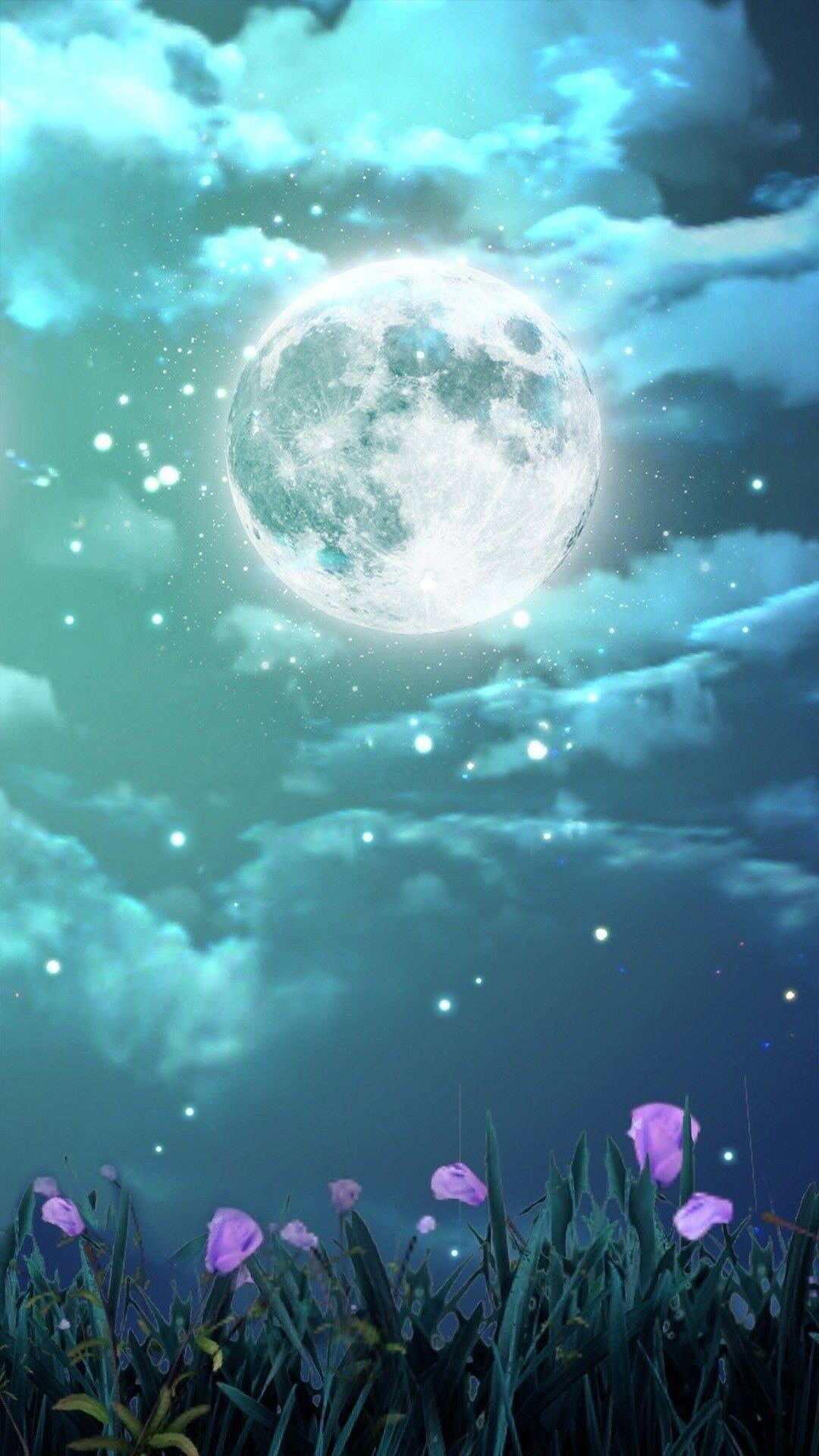 Pin By Meredith Seidl On Moon Stars Sun In Art Fantasy