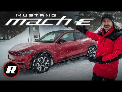 2021 Ford Mustang Mach E Snow Drifting In The Blue Oval S Controversial Awd Ev 4k Youtube In 2020 Ford Mustang Mustang Awd