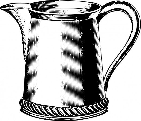 Free Clip Art Tea Service Set Clip Art Free Clip Art Clip Art Vintage