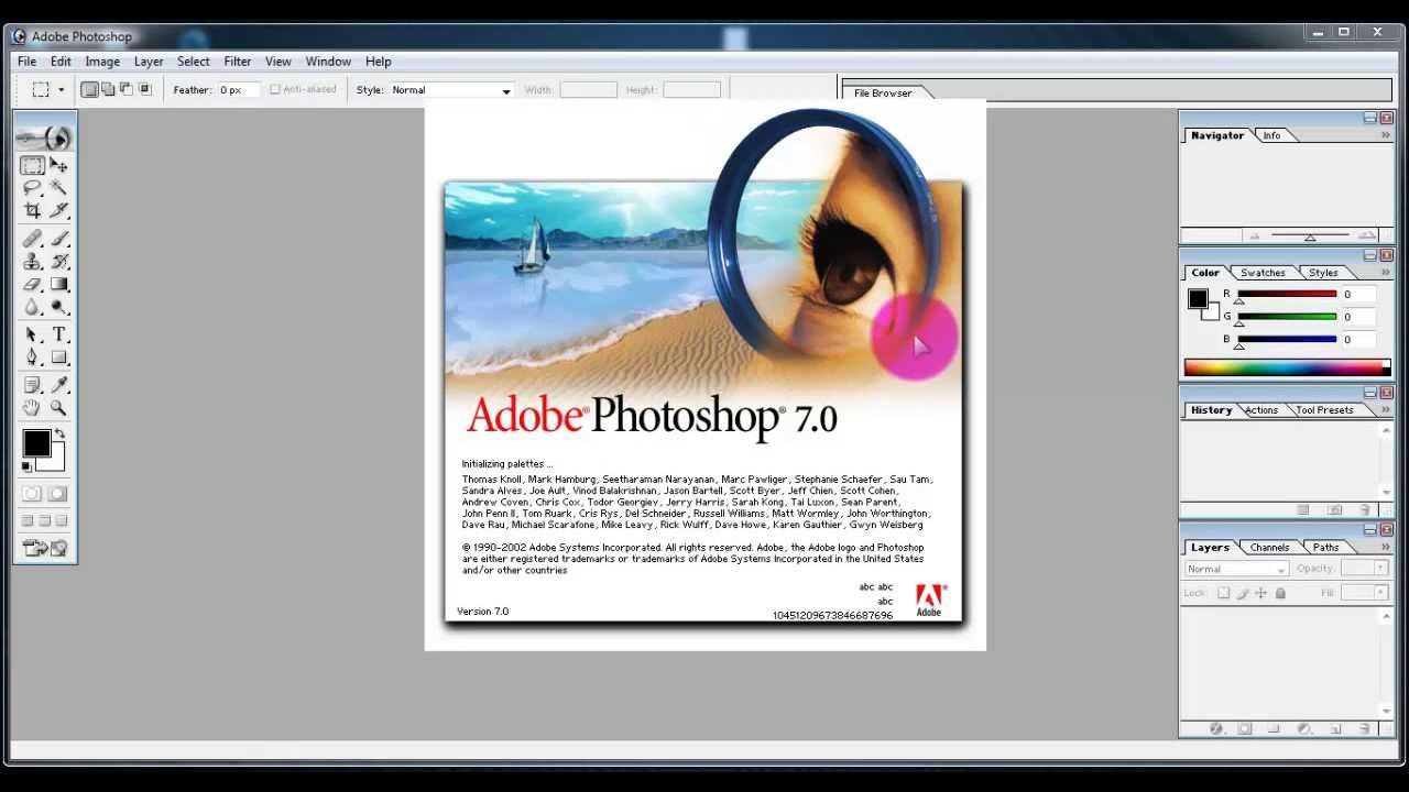 adobe photoshop 7 software free download for pc