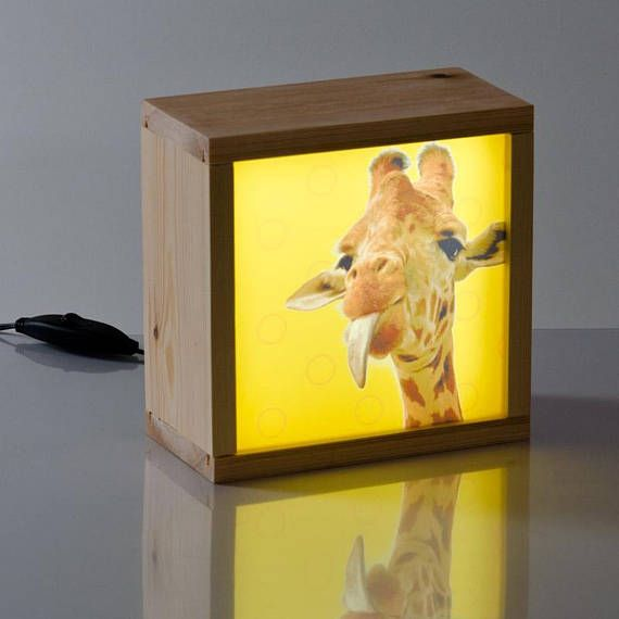 Decorative Light Box For Childrens Room With Animal Design Ideal To Decorate The Of Children House And During Night Serves As A Bed