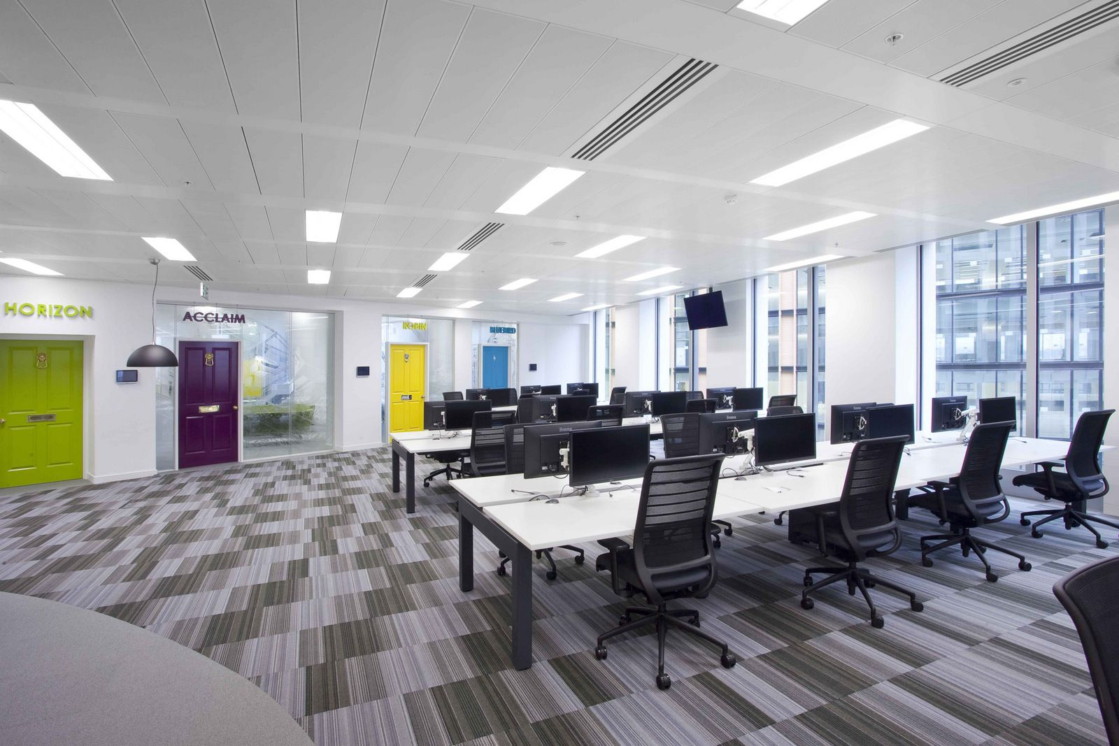 london office design. Claremont Group Interiors Has Developed A New Office Design For Automotive Marketplace AutoTrader Located In London, England. London