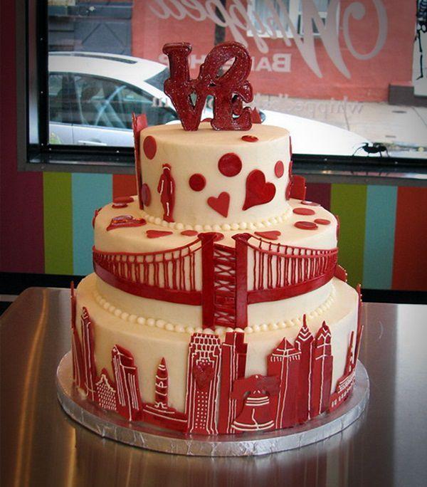 Creative Red Velvet Wedding Cake Pictures Royal Red Velvet Wedding