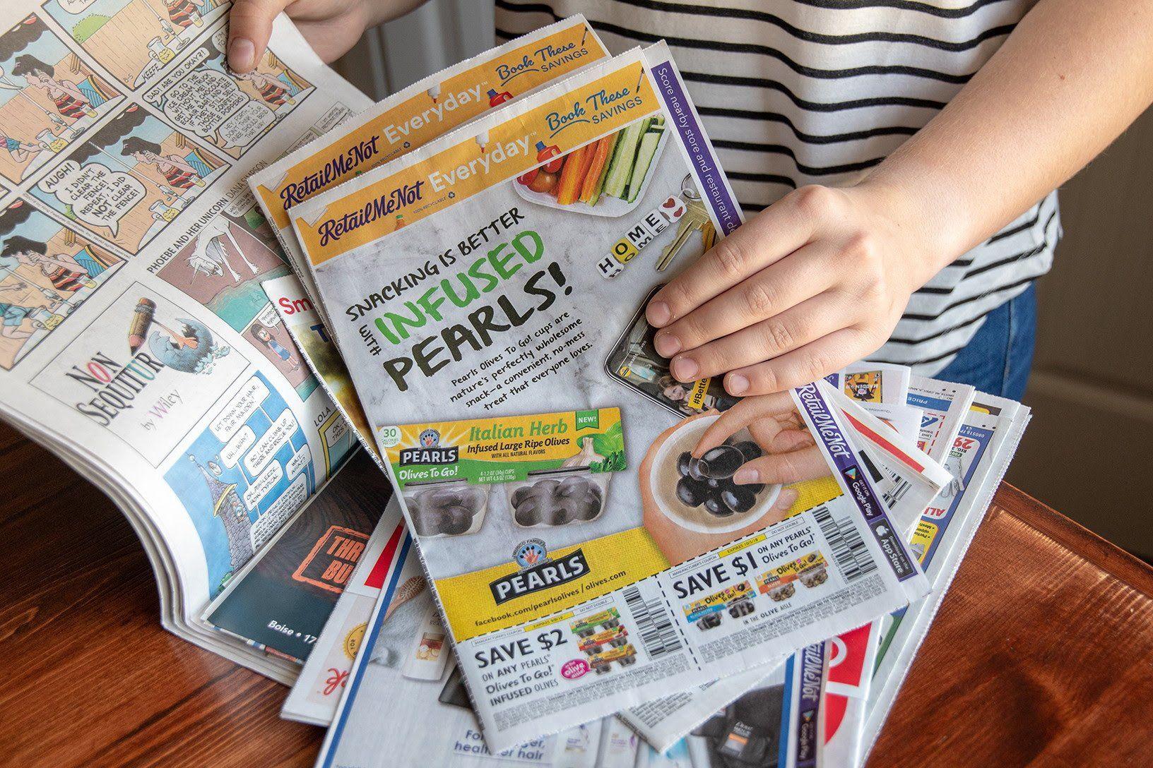 11 Ways To Get Free Sunday Newspaper Coupons Sunday Newspaper Coupons Newspaper Coupon Sunday Newspaper