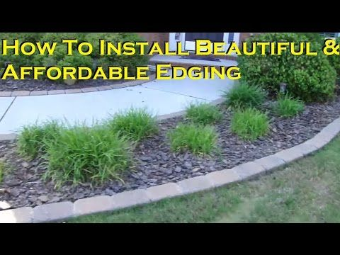 Tips On Installing Paving Stone Edging Landscape Edging