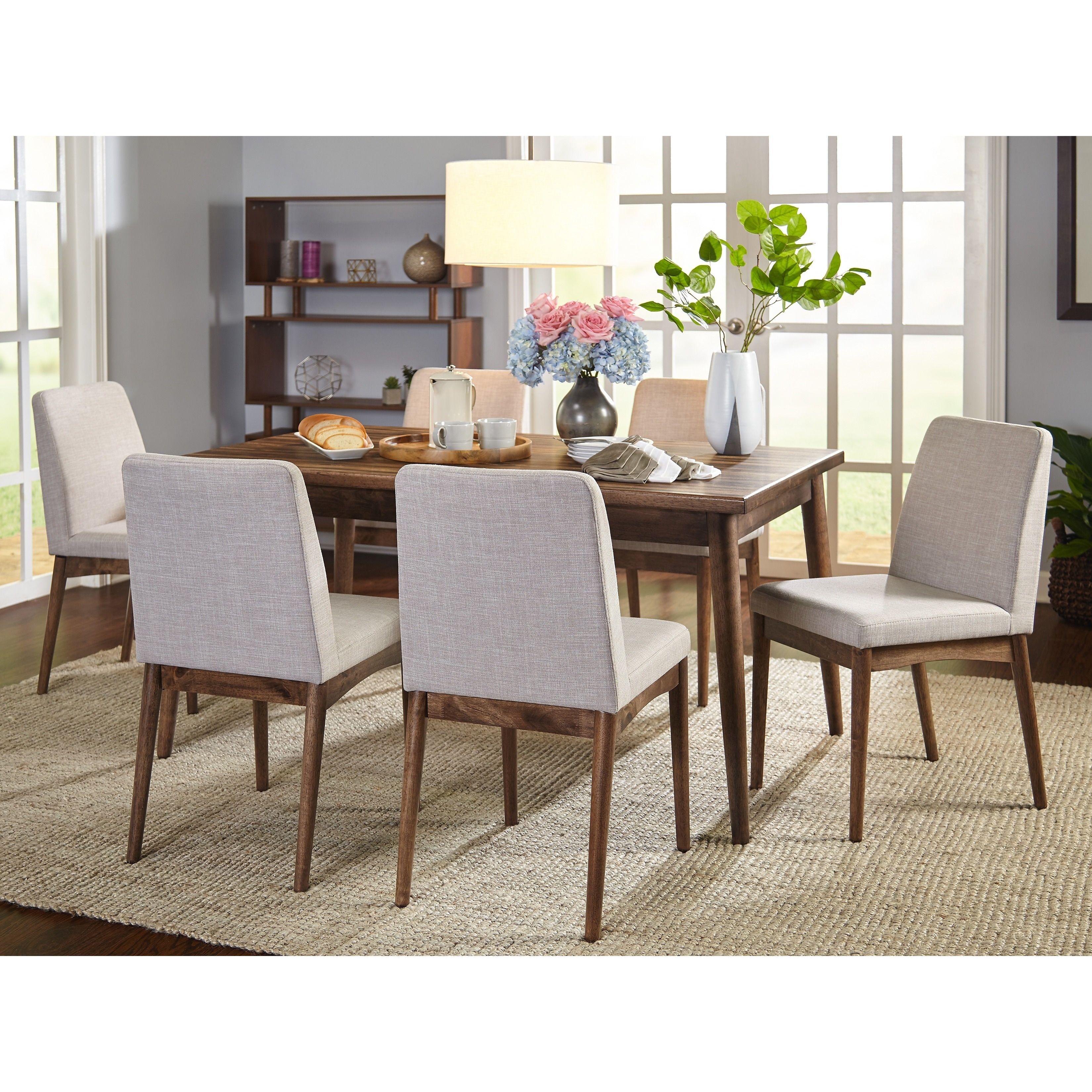 Home Mid Century Dining Set Dining Room Sets Mid Century