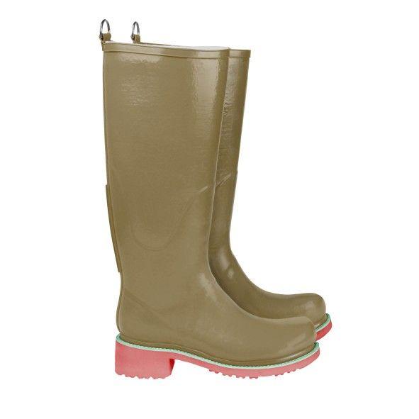 Rain boot - Long, High heel