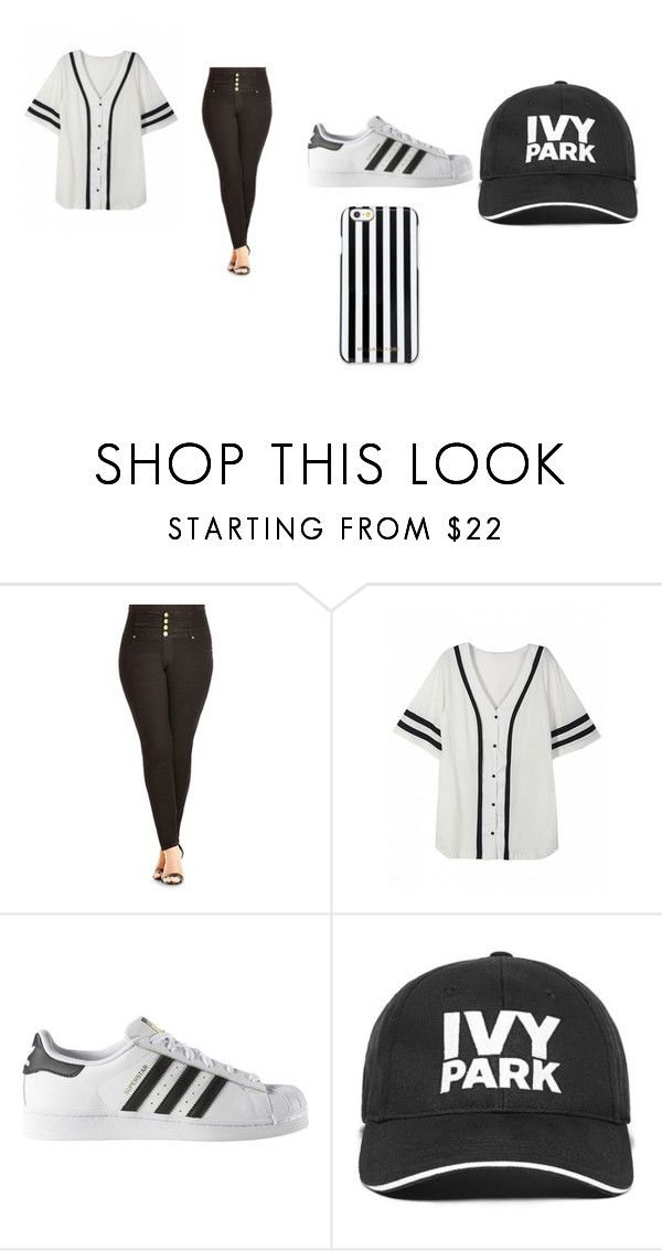 """""""Girl outfit"""" by jtbae on Polyvore featuring City Chic, adidas, Ivy Park and MICHAEL Michael Kors"""