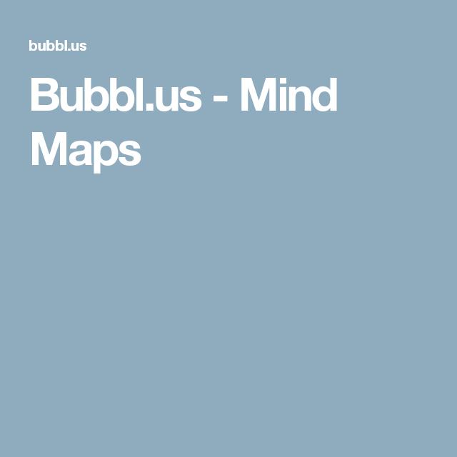 bubblus mind maps - Bubblus Mind Map