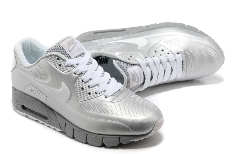 0ffd732bea Nike Air Max 90 Current VT LSR Metallic Silver | shoes | Nike ...