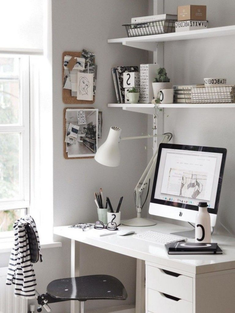 40+ Good Scandinavian Home Office Designs That Inspire