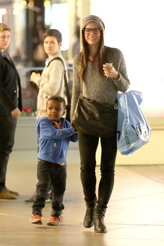 Sandra Bullock & son, Louis. Sandra bullock movies