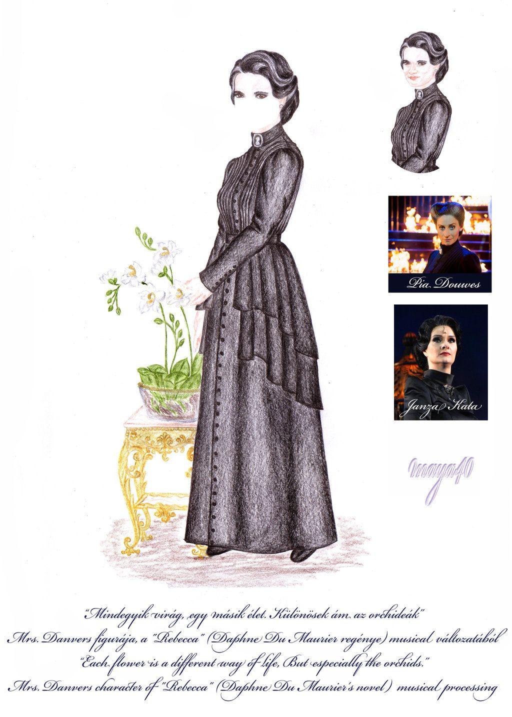 Vanda's Secret Wardrobe - Mrs. Danvers by maya40.deviantart.com on @deviantART