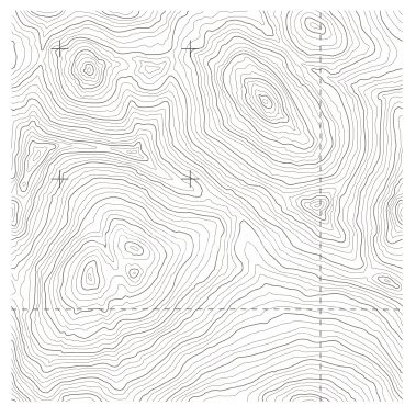Topographic Map Vector Free.Big Seamless Topography Tile Vector Depicts Rugged Mountainous