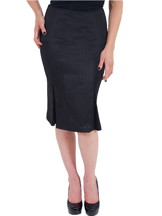 "Women's ""Cherie"" Pencil Skirt by Lucky 13 (Black) #InkedShop #pencilskirt #style #fashion"