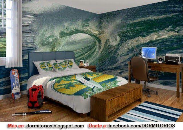 Dormitorios fotos de dormitorios im genes de habitaciones y rec maras dise o y decoraci n - Decoracion surfera ...