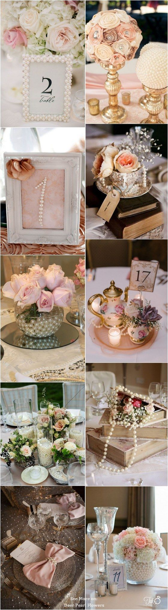 35 chic vintage pearl wedding ideas youll love noel weddings and vintage pearls wedding ideas and themes httpdeerpearlflowers vintage pearl wedding ideas junglespirit Choice Image