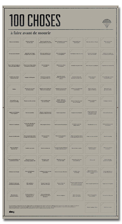 doiy dypostthf 100 choses faire avant de mourir. Black Bedroom Furniture Sets. Home Design Ideas