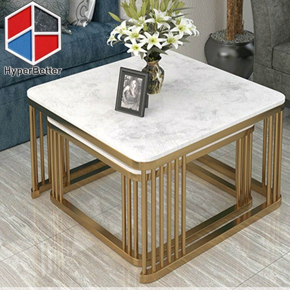 Marble Nested Tables Table Table Furniture Artificial Marble [ 1000 x 1000 Pixel ]