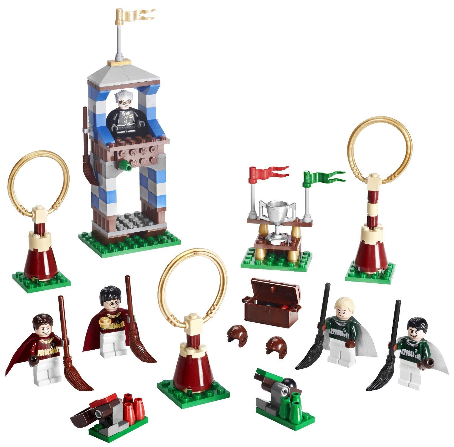 Amazon com lego harry potter quidditch match 4737 toys games
