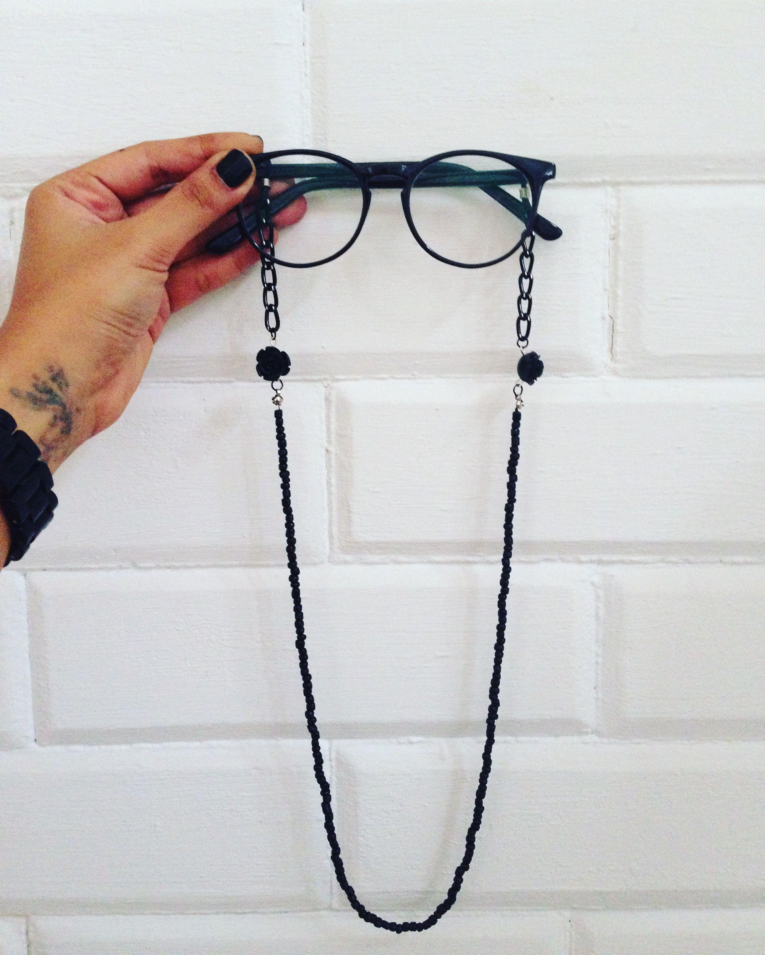 343cd021884d6 Cordão para óculos  cordinha de óculos   Moda   Estilo   Pinterest ...