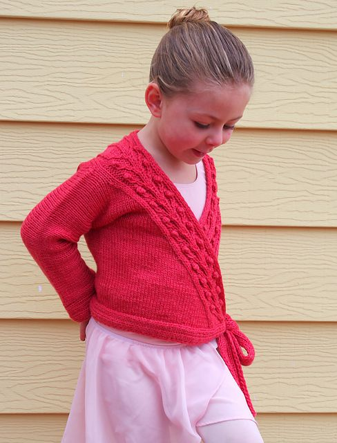 Ravelry: Sweet Blossom Ballet Wrap and Legwarmers pattern by Meghan Jones
