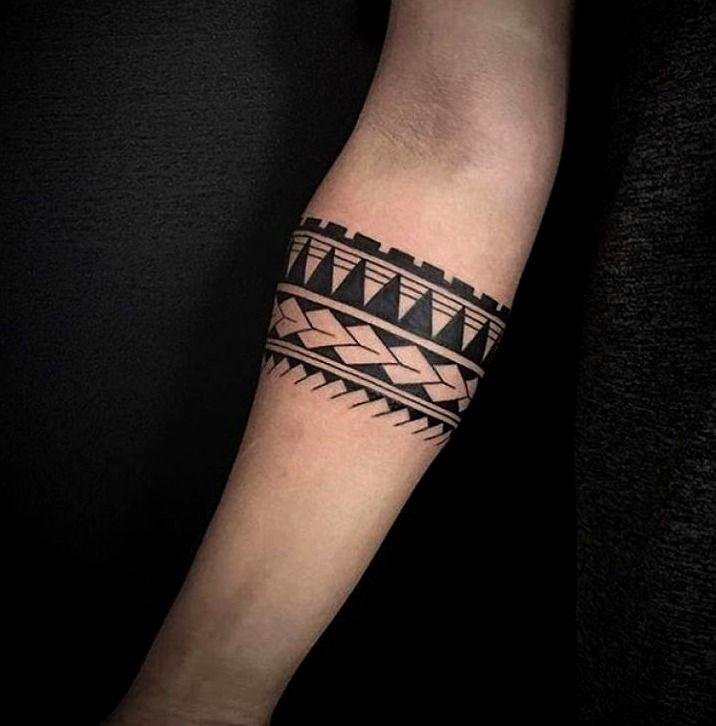 Tatuajes En El Antebrazo Tattoos Brazaletes Tatuaje De Brazalete Tatuaje Brazalete Tribal
