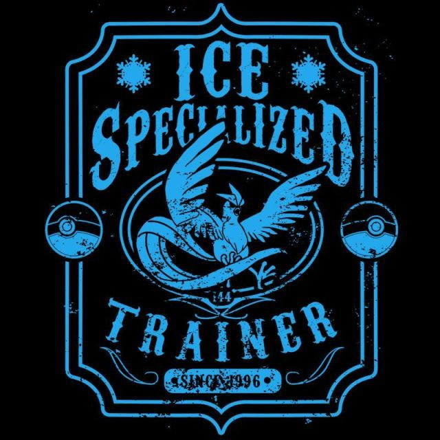 Ice Specialized Trainer T-Shirt $12.99 Pokemon tee at Pop Up Tee!