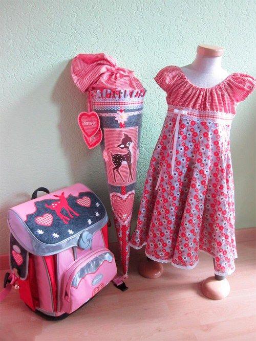 Schnittmuster: Einschulungskleider | Kleider | Kleid ...