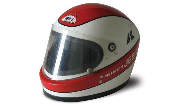 Clay Regazzoni Race Helmet 1970s Clay Regazzoni Helmet Suzuka