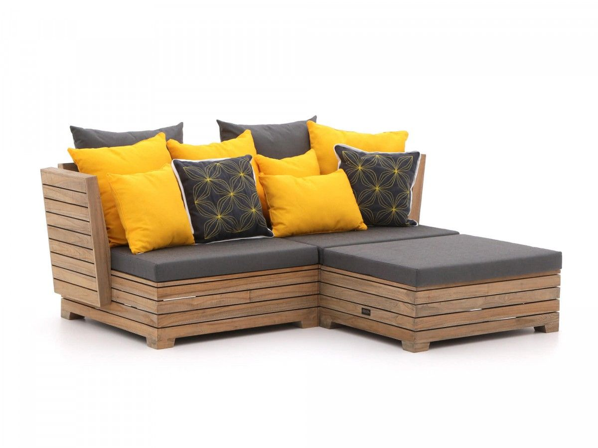 Balkon Lounge Set Rough B Chaise Longue Loungeset 3 Delig Loungeset Kees Smit