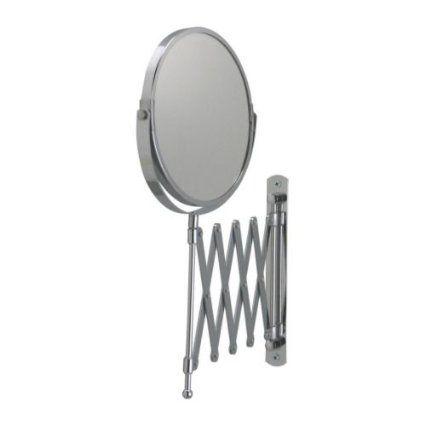 Amazon  Ikea Frack Extendable Magnifying Bathroom Mirror $12 Delectable Extendable Bathroom Mirror Inspiration Design