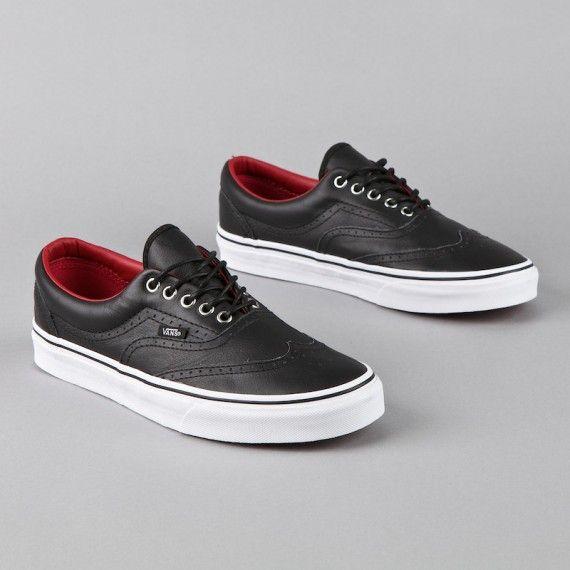 0a0e97f5727496 Vans Era Wingtip - Black - Red - White - SneakerNews.com