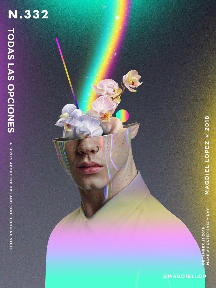 332 TODAS LAS OPCIONES - Magdiel Lopez | Diseño de arte gráfico, Arte de collage, Carteles gráficos