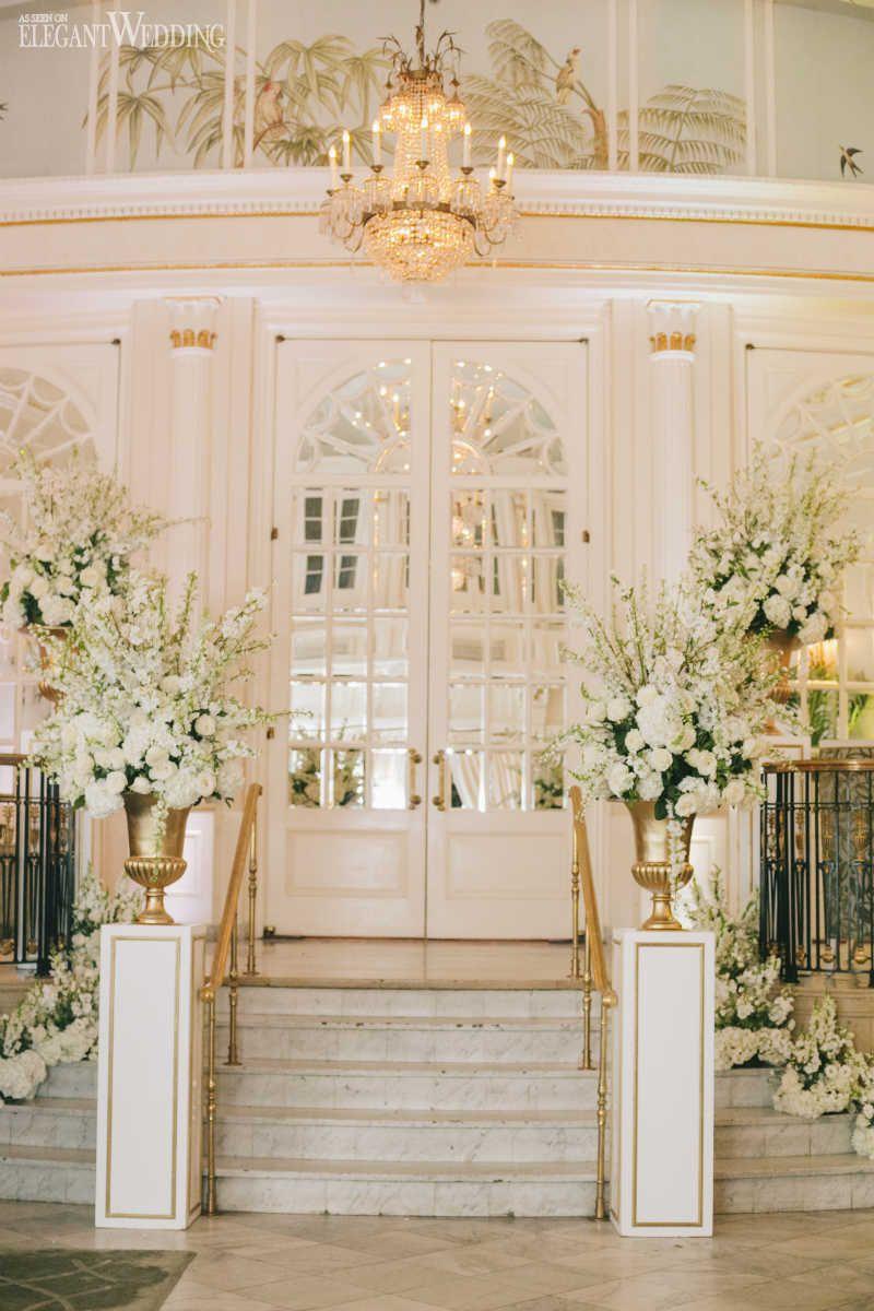 Stunning Blush Pink Wedding At The Ritz Pink Wedding Decorations