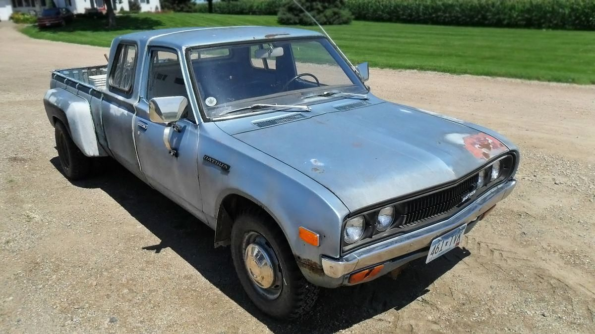 2 500 1979 Datsun 620 Extended Cab Dually Pickup Extended Cab Datsun Cab