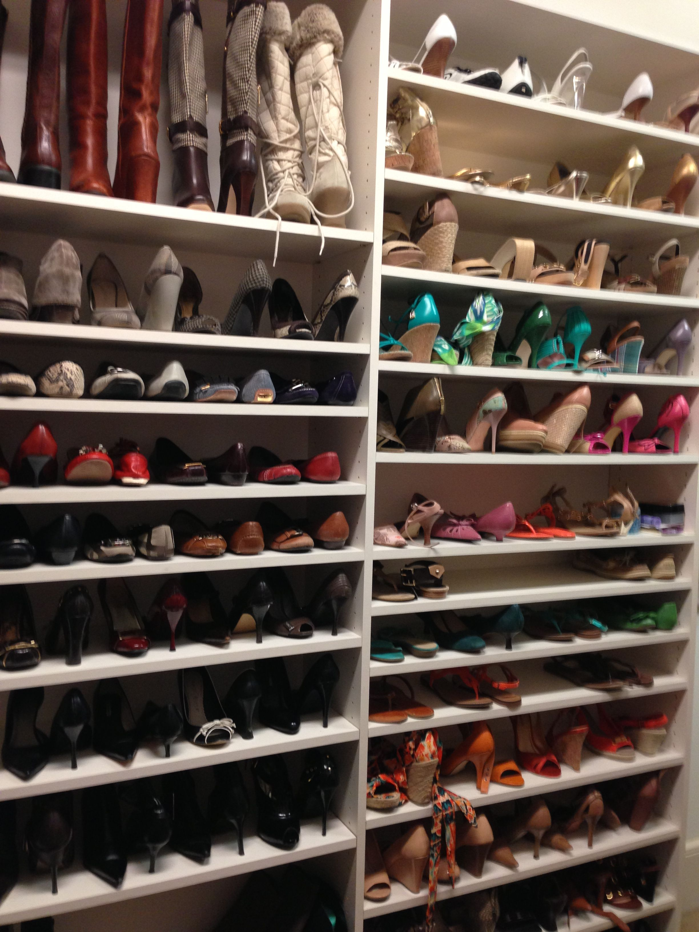 This Looks Similar To My Shoe Closet